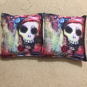 Skull Throw Pillows